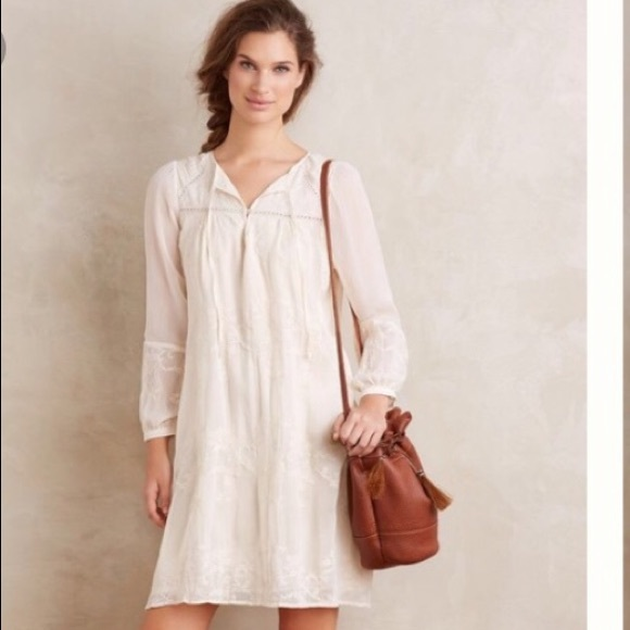 f05bab25824ec Anthropologie Dresses & Skirts - Anthropologie Tiny Boho Luisa Swing Dress
